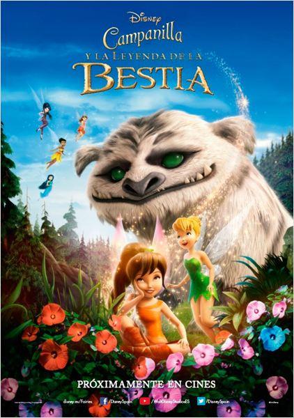 Campanilla y la leyenda de la bestia : Cartel