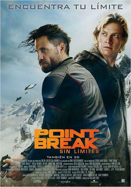 Point Break (Sin límites) : Cartel