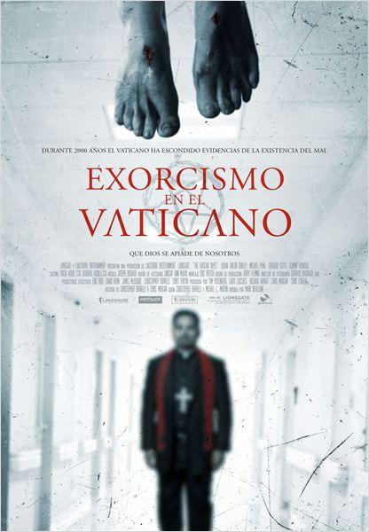 Exorcismo en el Vaticano - Cartel