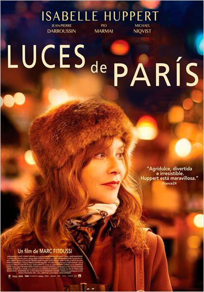 Luces de París - Cartel