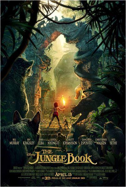 El libro de la selva : Cartel