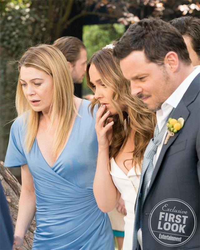 Anatomía de Grey\': primera imagen de la boda de Jo y Alex en el ...