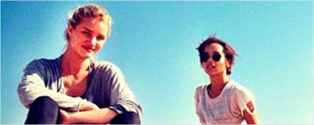 'Mad Max: Fury Road': primera imagen de Rosie Huntington-Whiteley en el rodaje