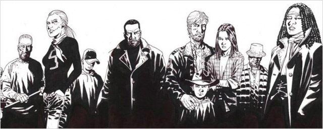 'The Walking Dead': Así son los protagonistas en el cómic de Robert Kirkman