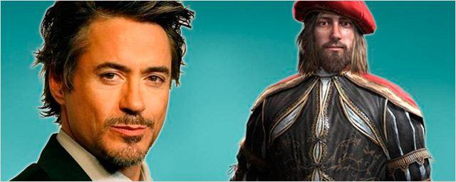 'Assassin's Creed': ¿Hará Robert Downey Jr. de Leonardo Da Vinci en la película?