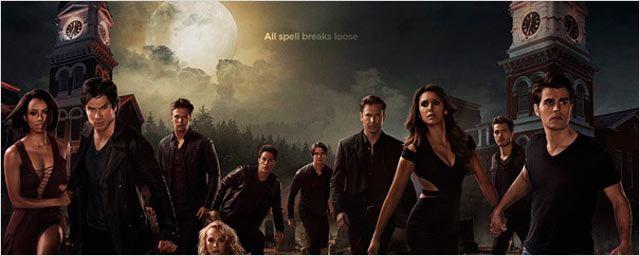 'Crónicas vampíricas': Elena y Stefan, juntos en el póster oficial de la sexta temporada