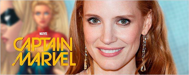 """Jessica Chastain """"nunca"""" ha hablado con Marvel para ser Captain Marvel"""