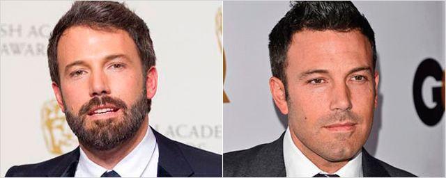 Actores con y sin barba