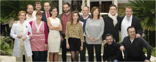'Allí Abajo': Hablamos con sus protagonistas María León, Mariano Peña y Jon Plazaola