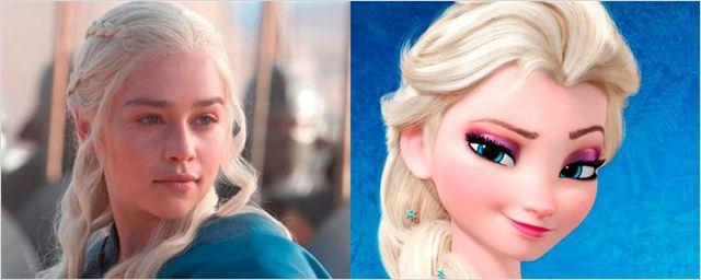 Los actores de 'Juego de Tronos' convertidos en personajes de Disney y Pixar