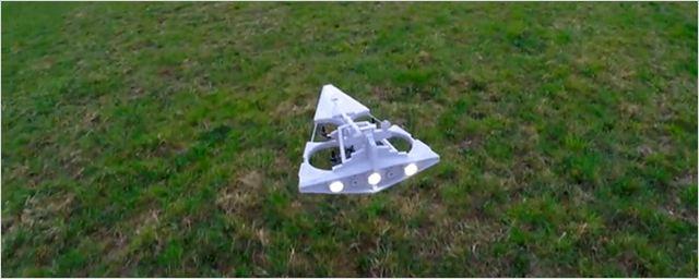 Un fan de 'Star Wars' construye un dron inspirado en un Destructor Estelar