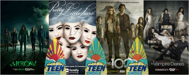 'Pretty Little Liars' y 'Crónicas vampíricas' lideran las nominaciones de los Teen Choice Awards 2015