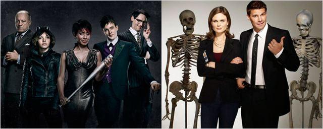 Las nuevas temporadas de 'Gotham' y Bones' ya tienen fecha de estreno
