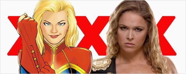 'Captain Marvel': Ronda Rousey podría ser la versión porno de la superheroína