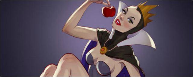 Las villanas de Disney se pasan a la estética Pin-up