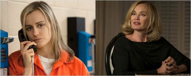 'Orange Is The New Black': A Taylor Schilling le gustaría que Jessica Lange participase en la serie