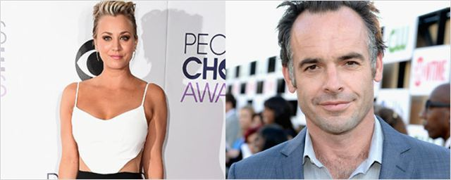 Kaley Cuoco y Paul Blackthorne están juntos