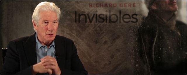 """Richard Gere ('Invisibles'): """"Estaba caracterizado, parado ahí y enseguida me di cuenta de que nadie me reconocía"""""""