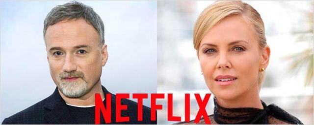 David Fincher y Charlize Theron trabajan en una serie para Netflix