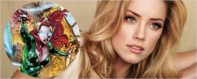 'Aquaman': Amber Heard en conversaciones para el papel de la protagonista femenina de la película