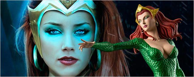 'La Liga de la Justicia': Amber Heard confirma que se ha probado el traje de Mera
