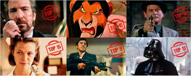 Los 15 mejores villanos de la historia del cine