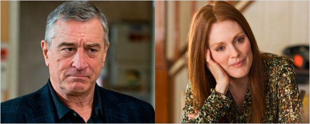 Robert De Niro y Julianne Moore protagonizarán una nueva serie creada por David O. Russell