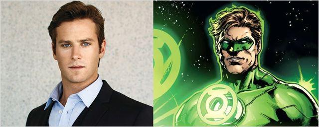 RUMOR: Armie Hammer podría ser Linterna Verde en 'La liga de la Justicia'