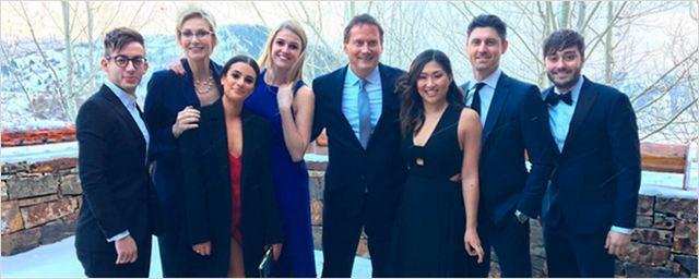 'Glee': El reparto de la serie se reúne en esta foto de Instagram
