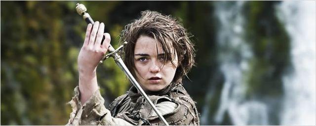 'Juego de tronos': Los últimos rumores apuntan a que Maisie Williams ha sido vista rodando con lobos