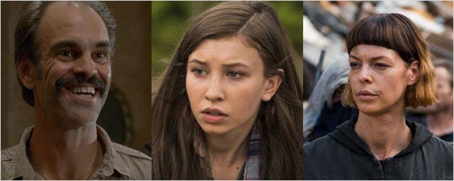 'The Walking Dead' asciende a tres personajes a regulares para su octava temporada