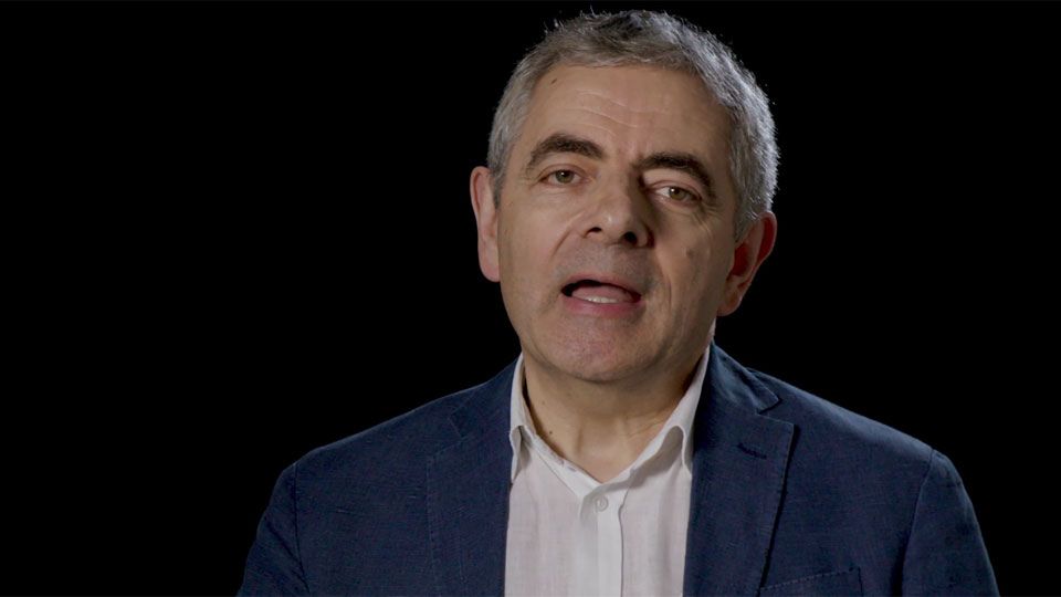 Entrevista Rowan Atkinson : Rowan Atkinson, Emma Thompson