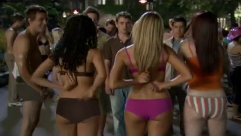 Very girl in american pie naked mile