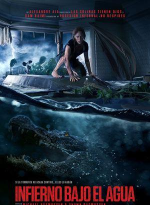 Infierno bajo el agua : Cartel
