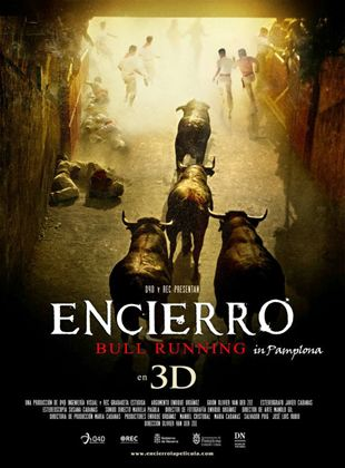 Encierro. Bull Running In Pamplona