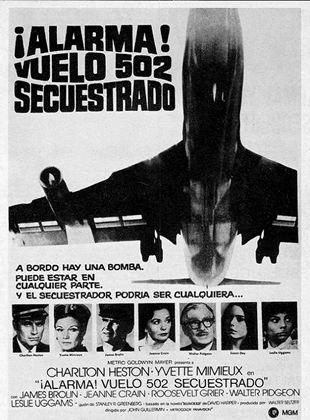 Alarma: vuelo 502 secuestrado