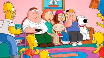 Fotos inéditas del 'crossover' de 'Padre de Familia' y 'Los Simpson'