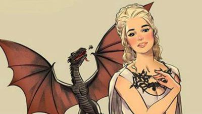 'Juego de tronos': Un artista convierte a las chicas de la serie en Pin-ups