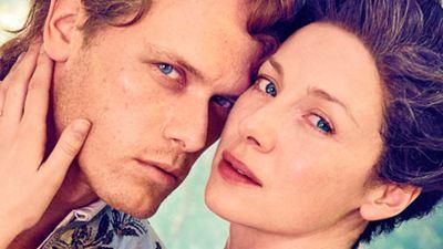 'Outlander': Claire y Jamie se visten de gala para una sesión de fotos de Entertainment Weekly