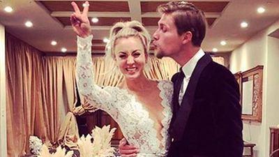 Kaley Cuoco se casa con Karl Cook en una ceremonia de ensueño