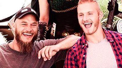 Las pruebas definitivas de que los miembros de 'Vikingos' son amigos inseparables