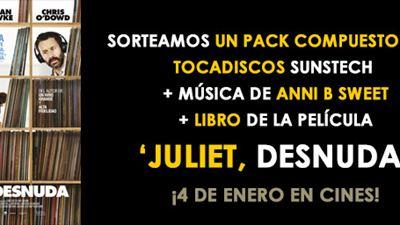 BASES LEGALES CONCURSO: '¡SORTEAMOS UN TOCADISCOS SUNSTECH Y UN LIBRO DE 'JULIET, DESNUDA'!'