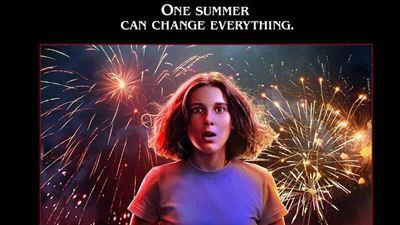 Los protagonistas de 'Stranger Things', sorprendidos durante la celebración del 4 de julio en los nuevos pósters de la 3T
