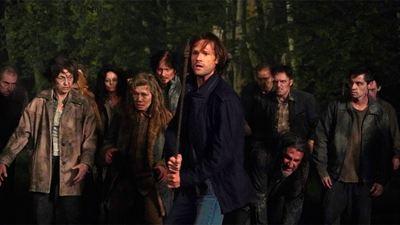 Sam, Dean y Castiel se enfrentan a una horda de zombis en el debut de la temporada 15 de 'Sobrenatural'