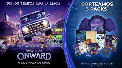 Sorteamos packs de 'Onward', la nueva película de Disney·Pixar