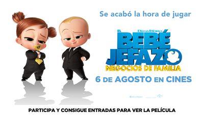 Sorteamos 5 entradas dobles para ver 'El bebé jefazo: Negocios de familia' en cines