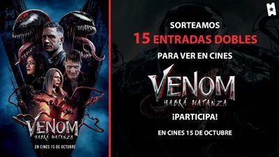 Sorteamos 15 entradas dobles para ver 'Venom: Habrá matanza' en cines