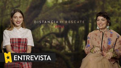 María Valverde y Dolores Fonzi nos dan claves de 'Distancia de rescate', un 'thriller' sobre maternidad y la crisis ambiental