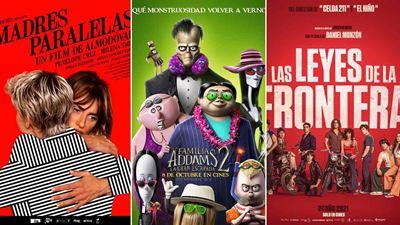 'Madres paralelas', 'Titane, 'Las leyes de la frontera' y 'La familia Addams 2, entre los estrenos de cine del fin de semana