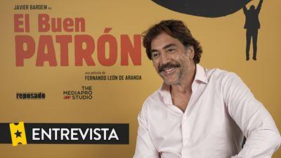 """'El Buen Patrón' - Javier Bardem: """"Hay muchos buenos patrones: en el fútbol, en empresas y con otros he trabajado en el cine"""""""